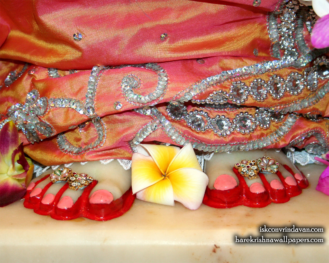 Sri Radha Feet Wallpaper (003) Size 1280x1024 Download