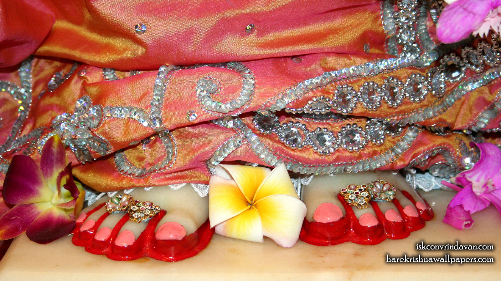 Sri Radha Feet Wallpaper (003) Size 1600x900 Download