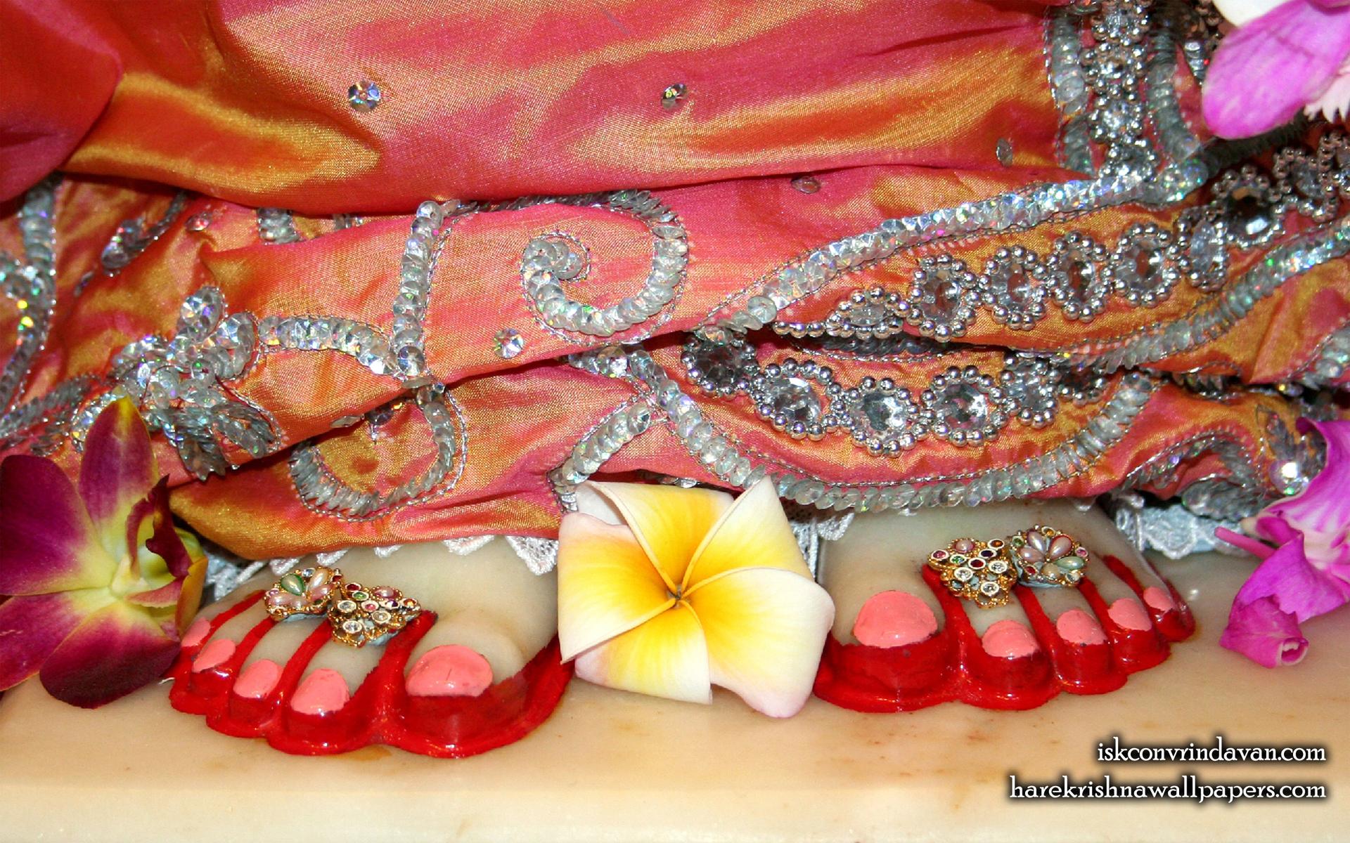 Sri Radha Feet Wallpaper (003) Size 1920x1200 Download