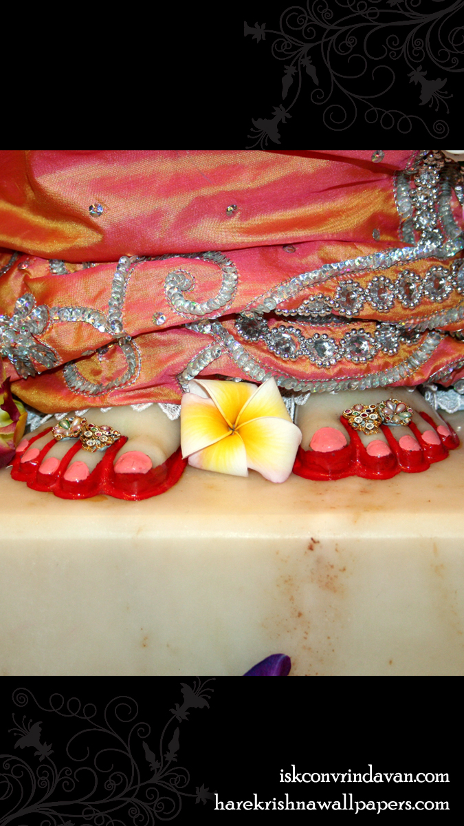 Sri Radha Feet Wallpaper (003) Size 675x1200 Download