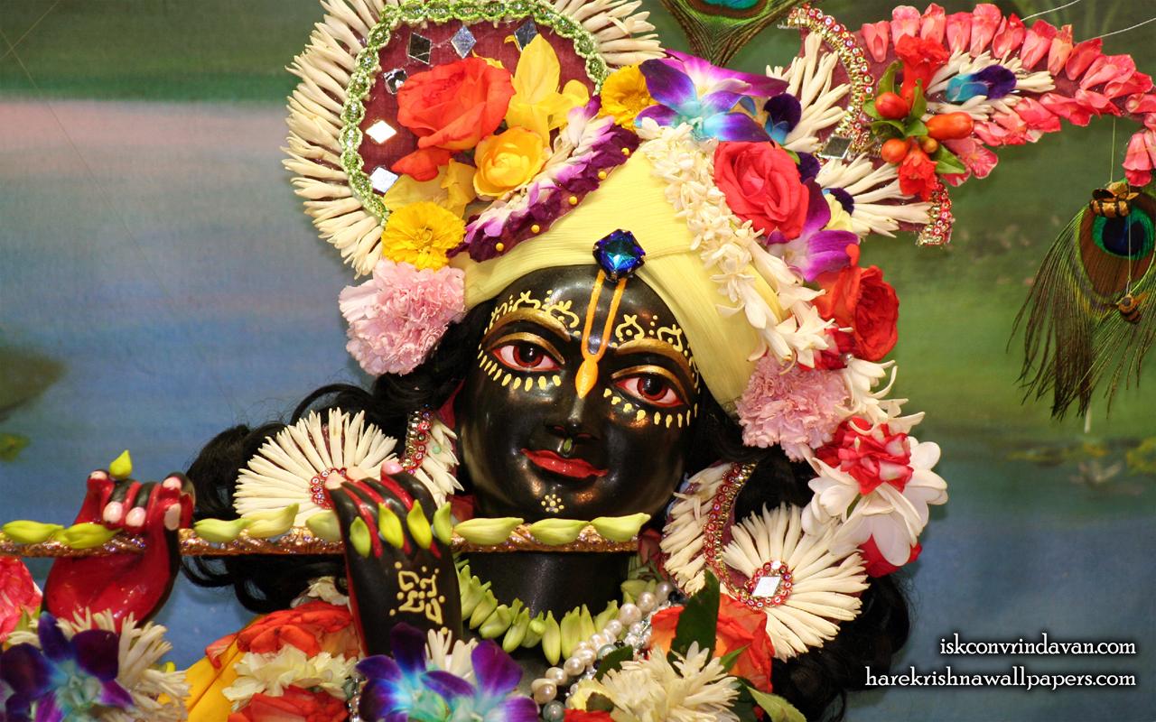 Sri Shyamsundar Close up Wallpaper (003) Size 1280x800 Download