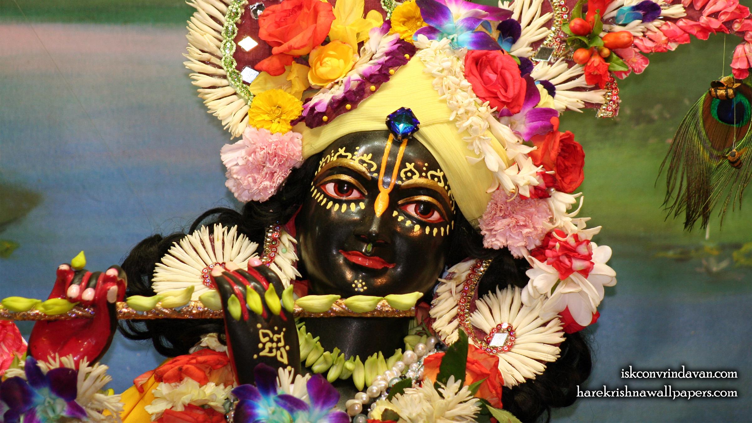 Sri Shyamsundar Close up Wallpaper (003) Size 2400x1350 Download