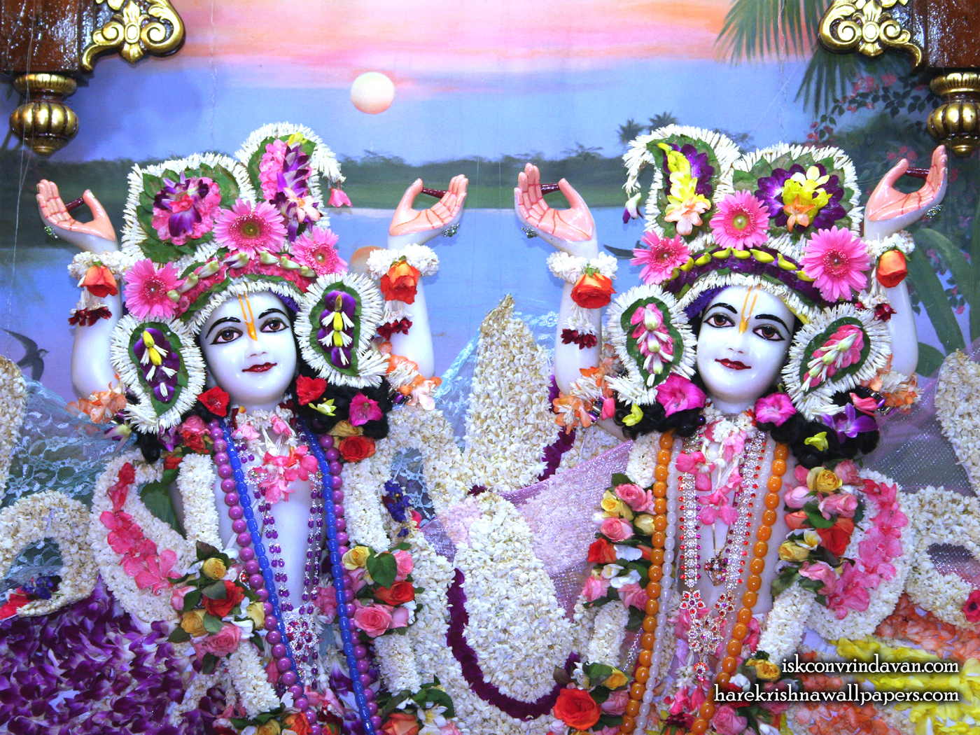 Sri Sri Gaura Nitai Close up Wallpaper (003) Size 1400x1050 Download
