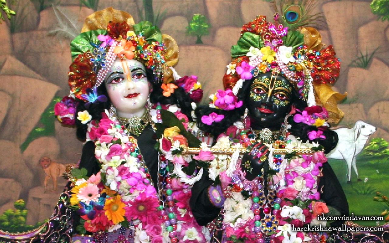 Sri Sri Krishna Balaram Close up Wallpaper (003) Size 1280x800 Download