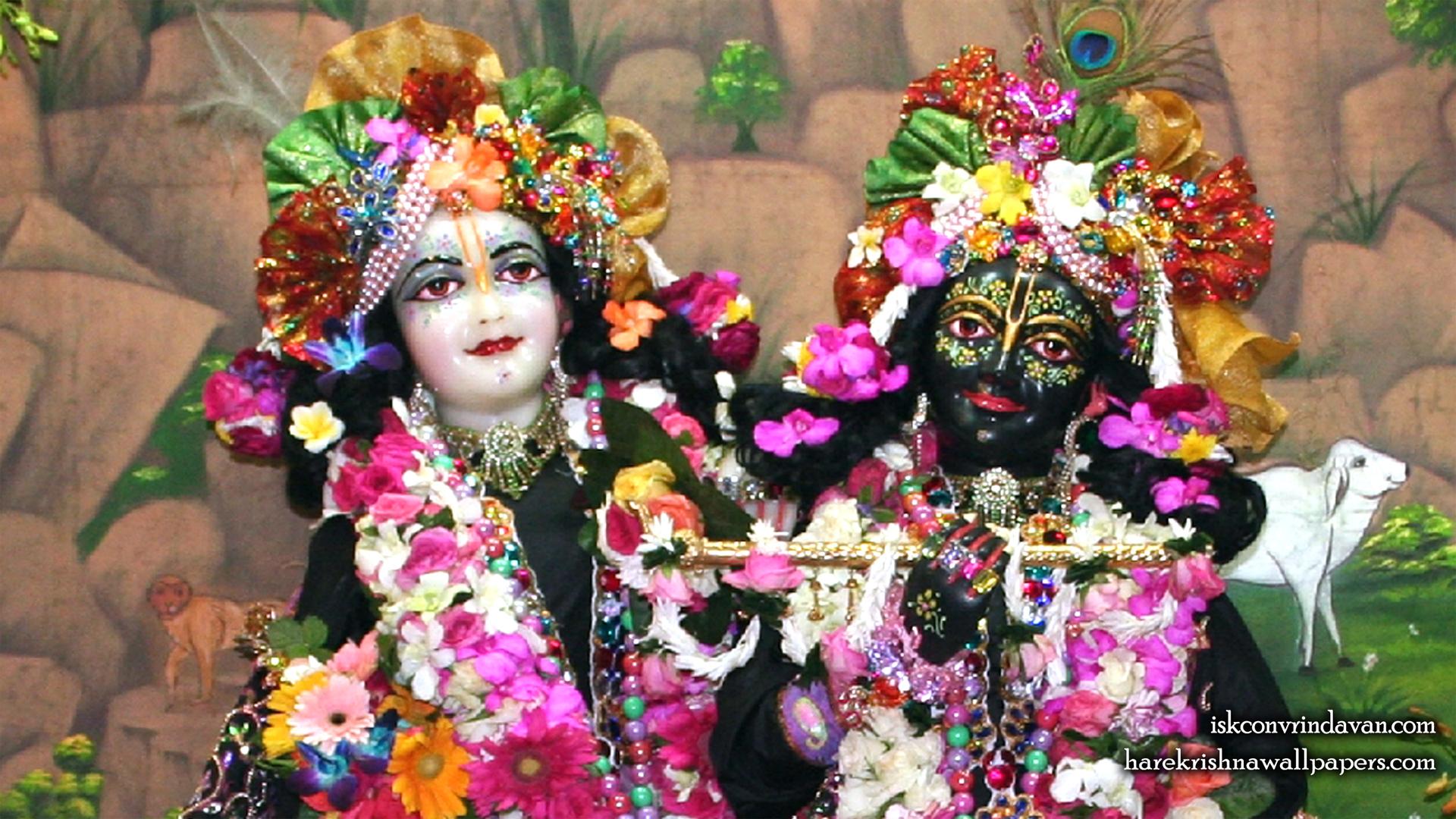 Sri Sri Krishna Balaram Close up Wallpaper (003) Size 1920x1080 Download