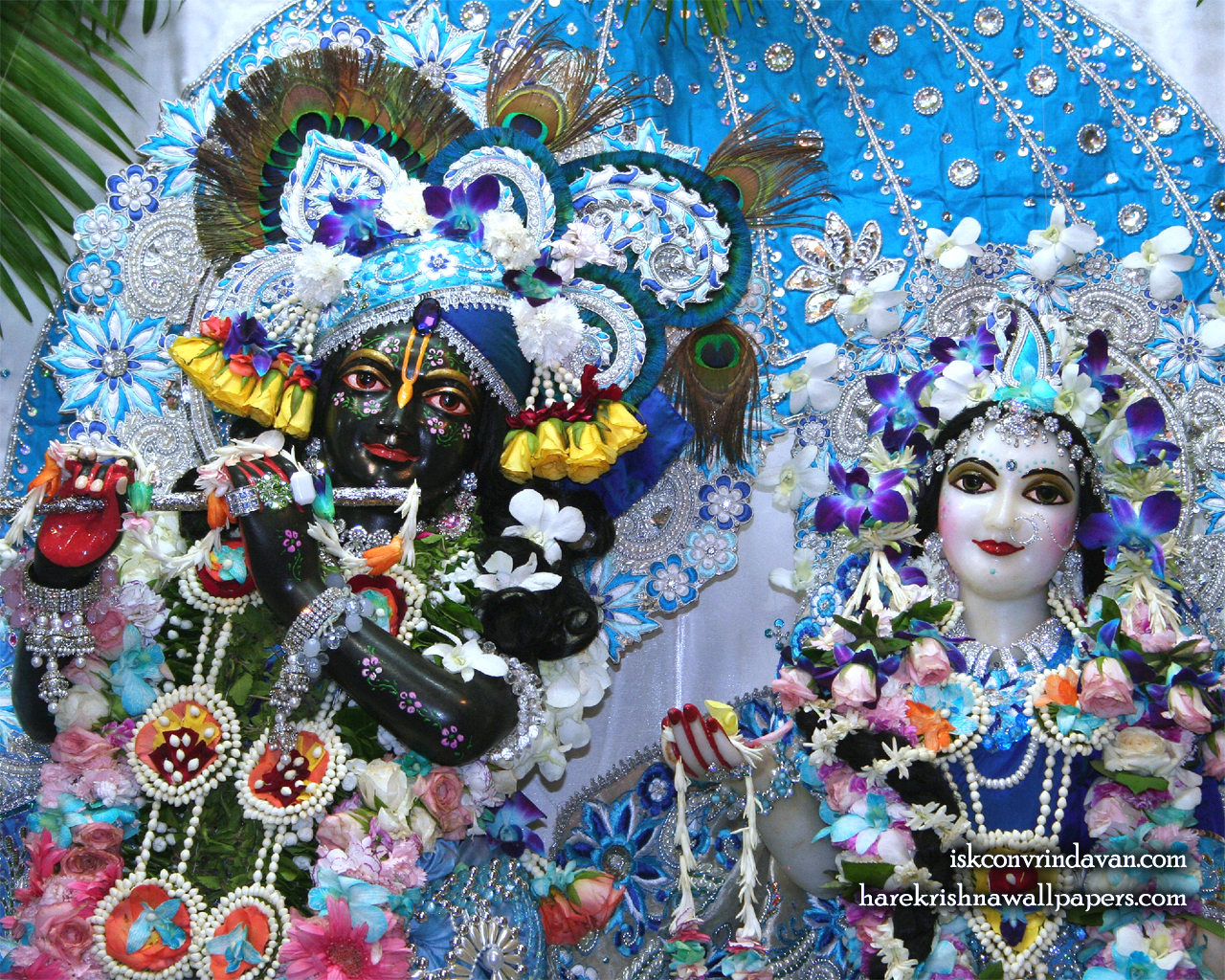 Sri Sri Radha Shyamsundar Close up Wallpaper (003) Size 1280x1024 Download