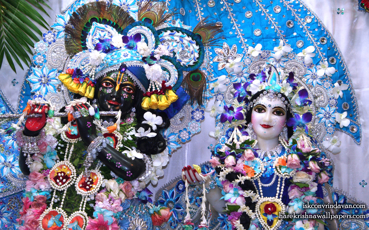 Sri Sri Radha Shyamsundar Close up Wallpaper (003) Size 1280x800 Download
