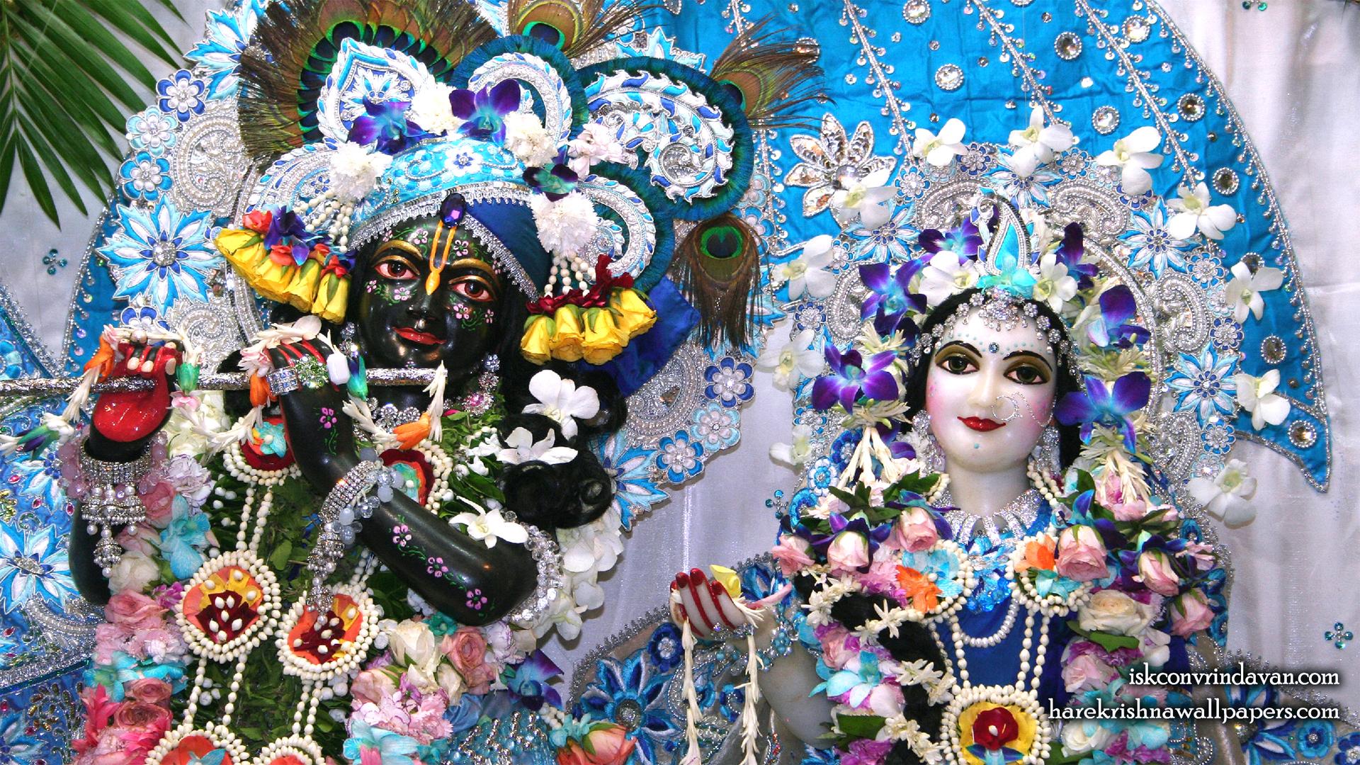 Sri Sri Radha Shyamsundar Close up Wallpaper (003) Size 1920x1080 Download