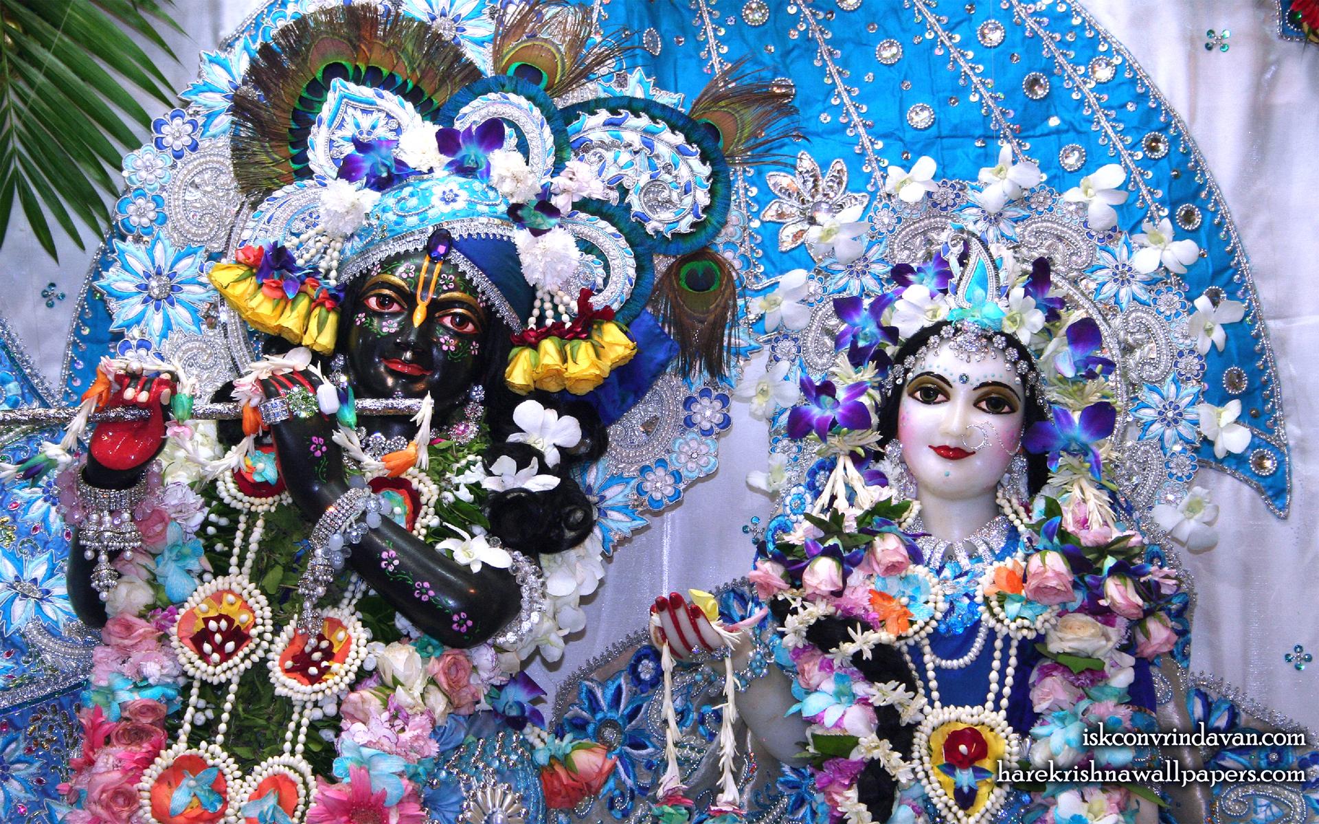 Sri Sri Radha Shyamsundar Close up Wallpaper (003) Size 1920x1200 Download