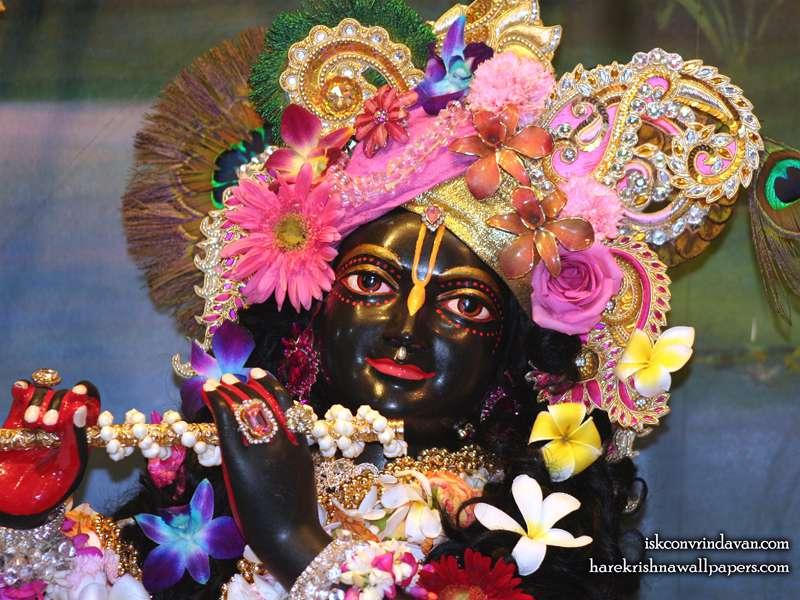 Sri Shyamsundar Close up Wallpaper (004)