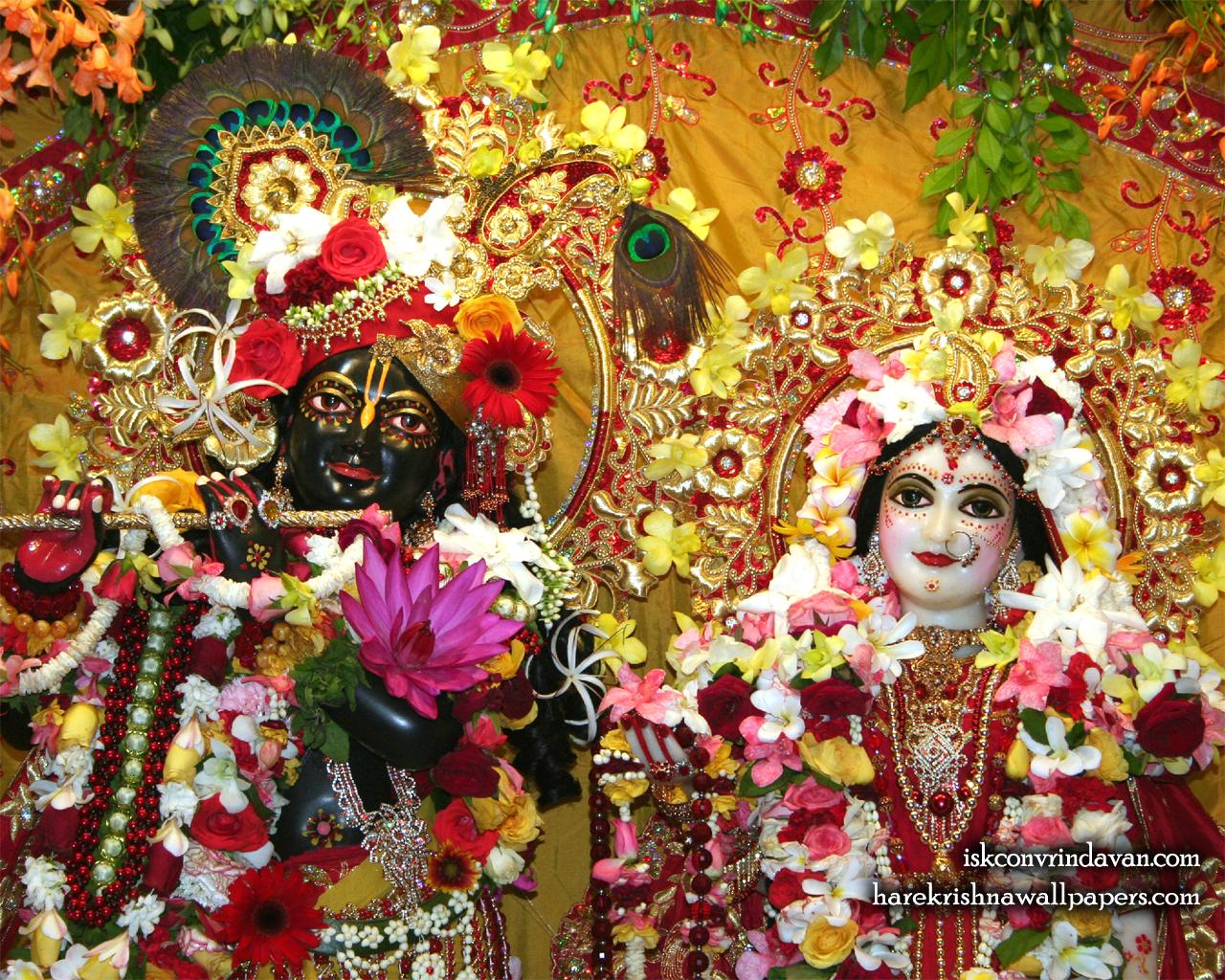 Sri Sri Radha Shyamsundar Close up Wallpaper (004) Size 1280x1024 Download