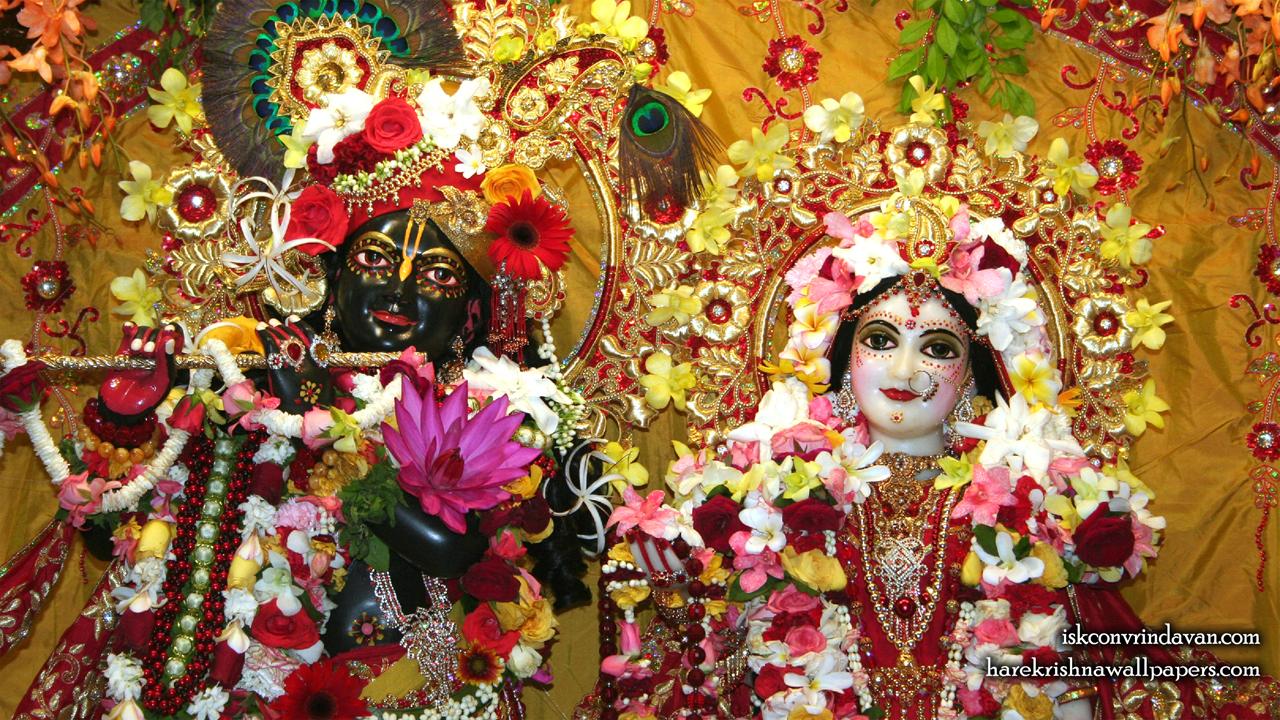 Sri Sri Radha Shyamsundar Close up Wallpaper (004) Size1280x720 Download