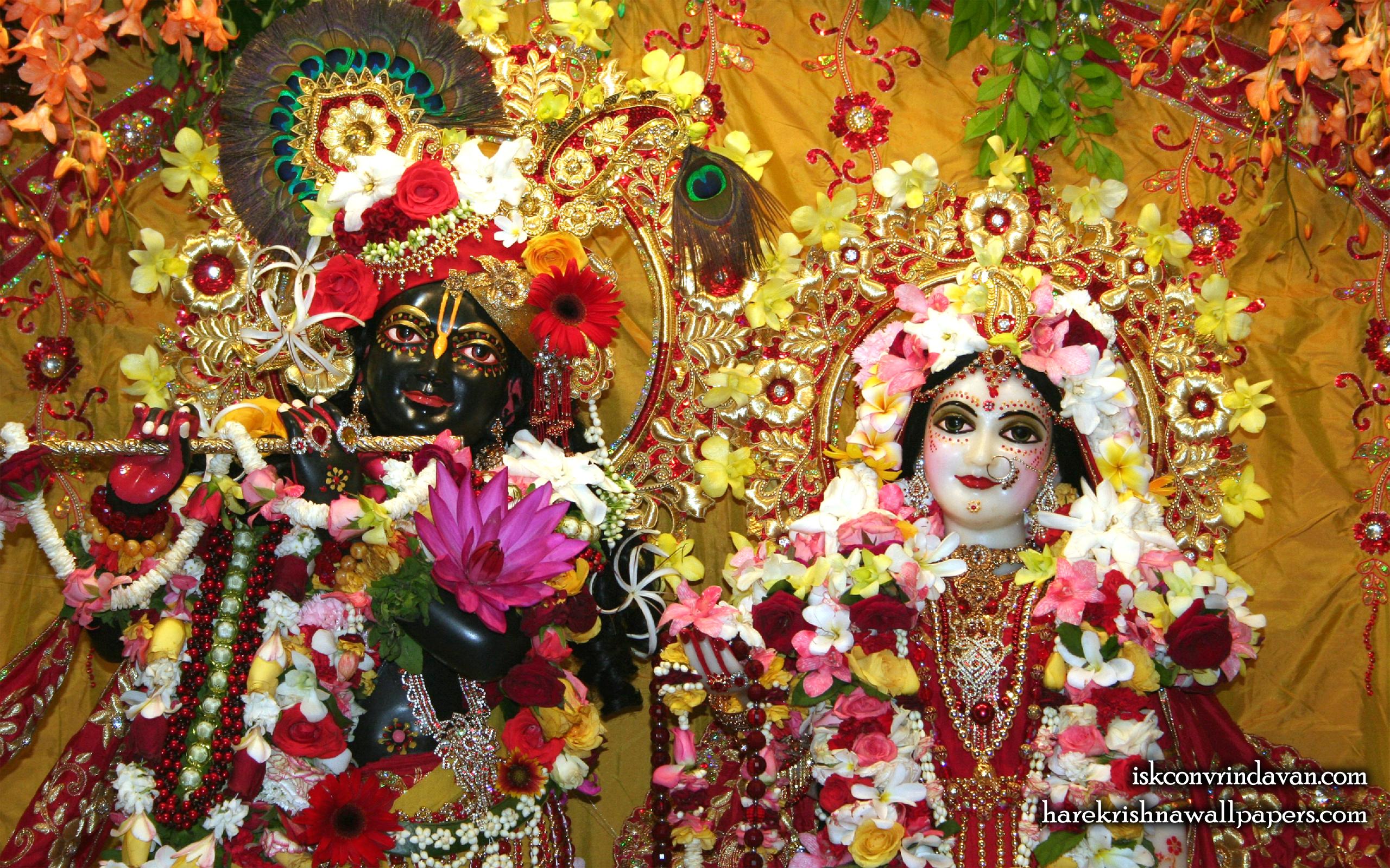 Sri Sri Radha Shyamsundar Close up Wallpaper (004) Size 2560x1600 Download