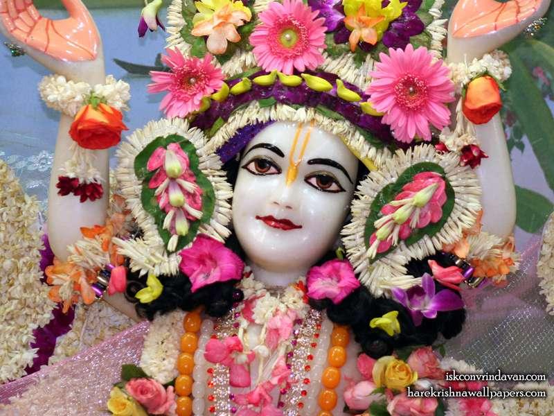Sri Gaura Close up Wallpaper (005)