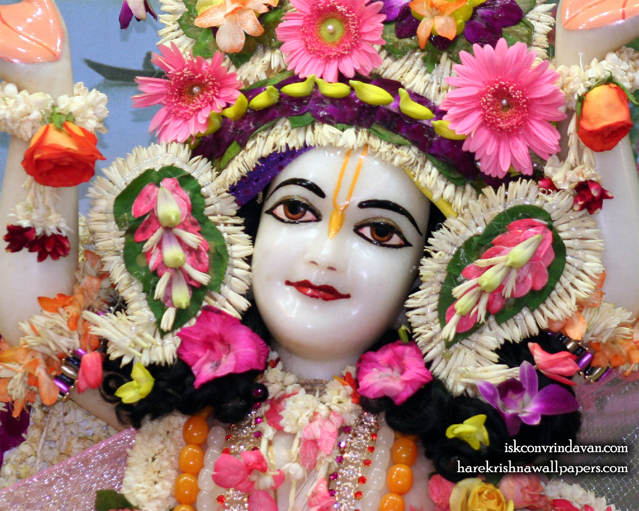 Sri Gaura Close up Wallpaper (005) Size 1280x1024 Download