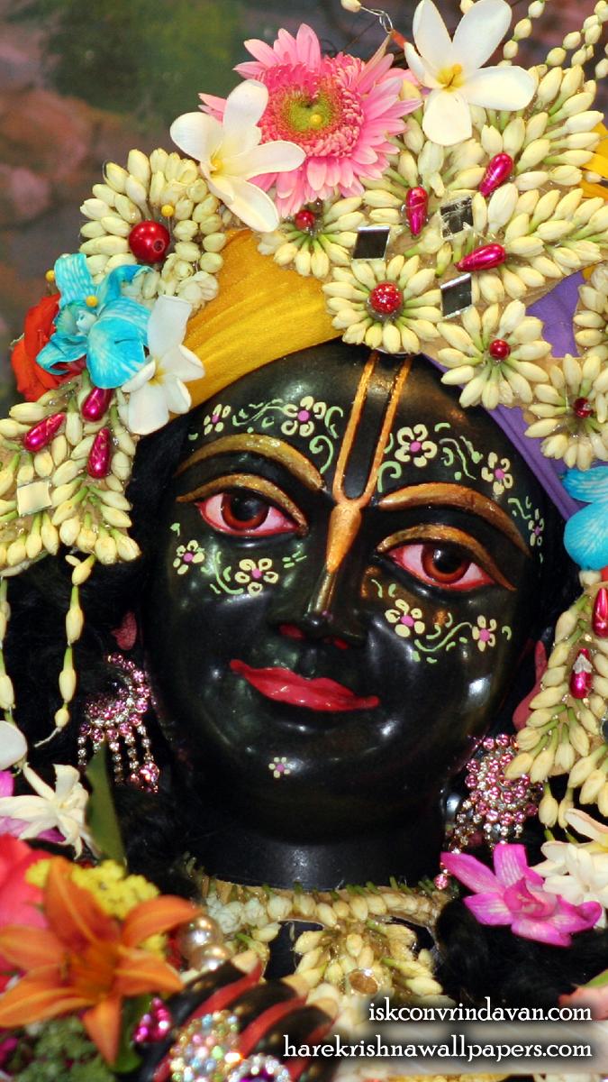 Sri Krishna Close up Wallpaper (005) Size 675x1200 Download