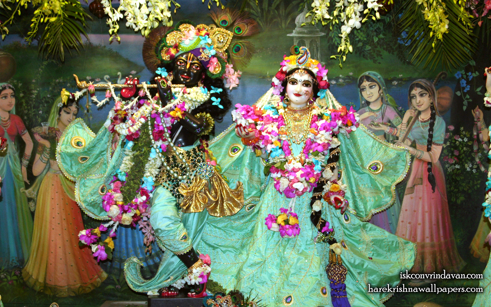Sri Sri Radha Shyamsundar Wallpaper (005) Size 1680x1050 Download