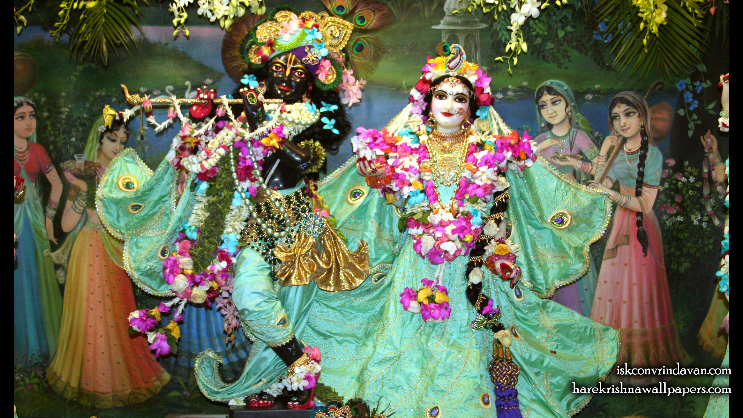 Sri Sri Radha Shyamsundar Wallpaper (005) Size 2400x1350 Download