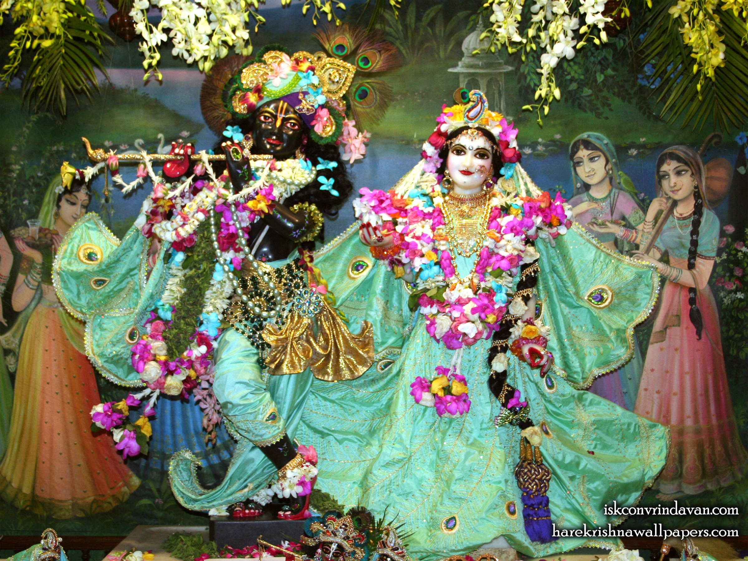 Sri Sri Radha Shyamsundar Wallpaper (005) Size 2400x1800 Download