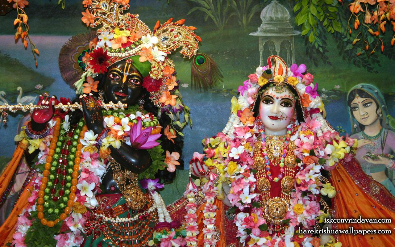 Sri Sri Radha Shyamsundar Close up Wallpaper (005) Size 1280x800 Download