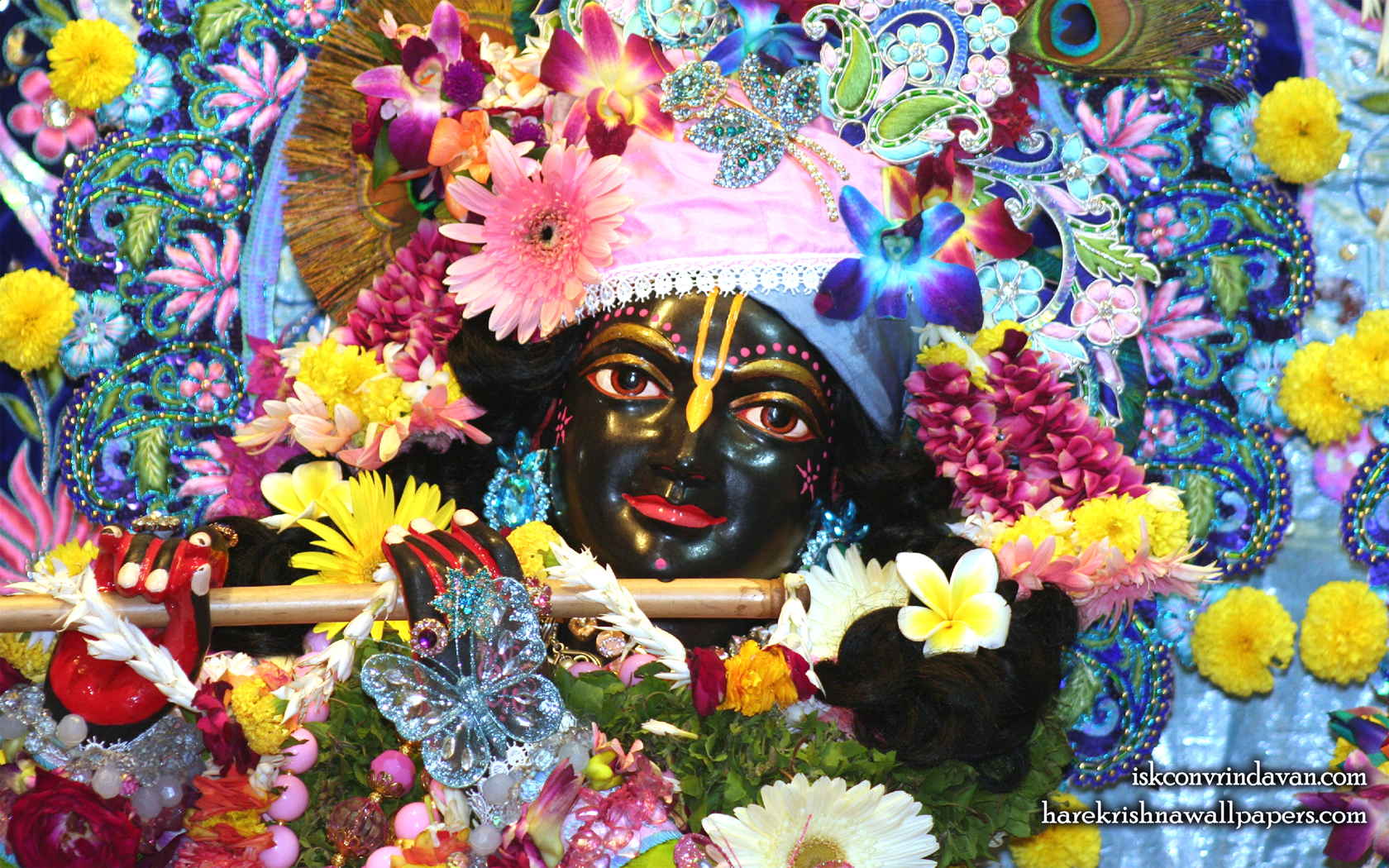Sri Shyamsundar Close up Wallpaper (006) Size 1680x1050 Download