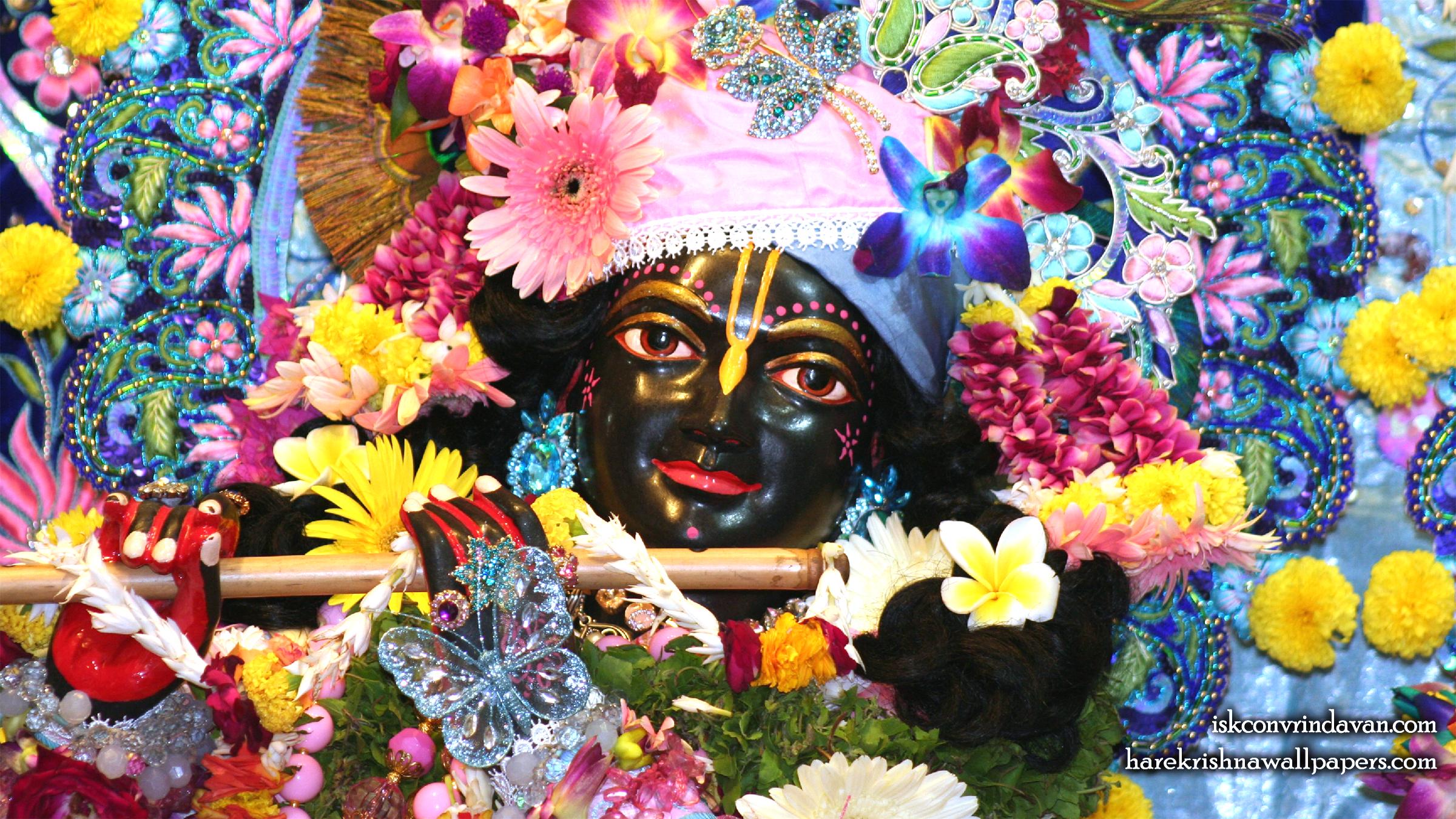 Sri Shyamsundar Close up Wallpaper (006) Size 2400x1350 Download