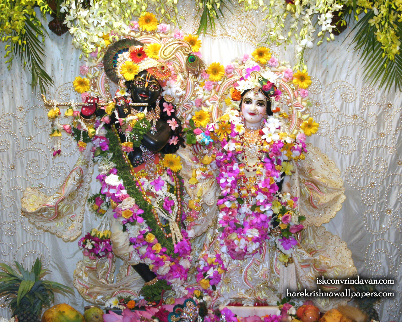 Sri Sri Radha Shyamsundar Wallpaper (006) Size 1280x1024 Download