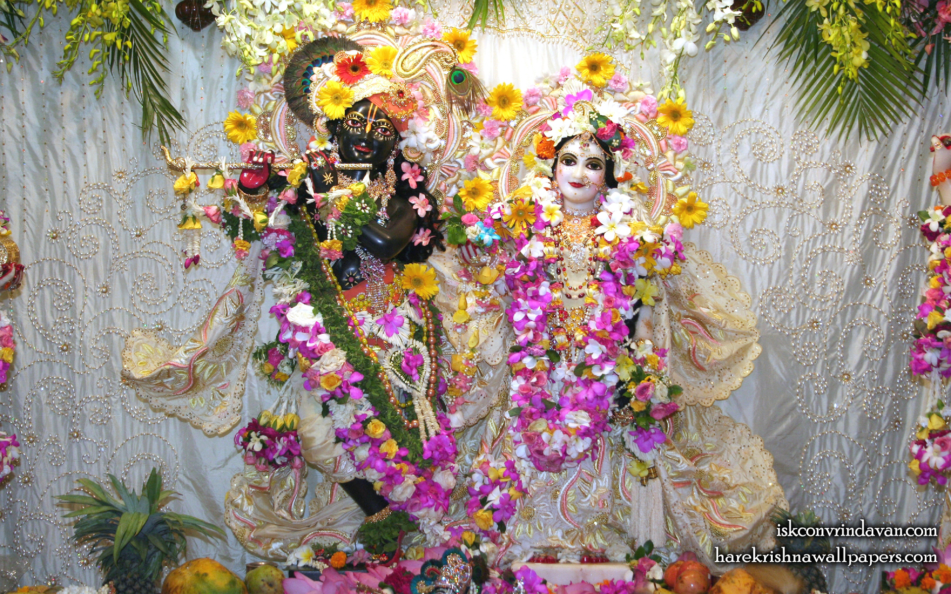 Sri Sri Radha Shyamsundar Wallpaper (006) Size 1920x1200 Download