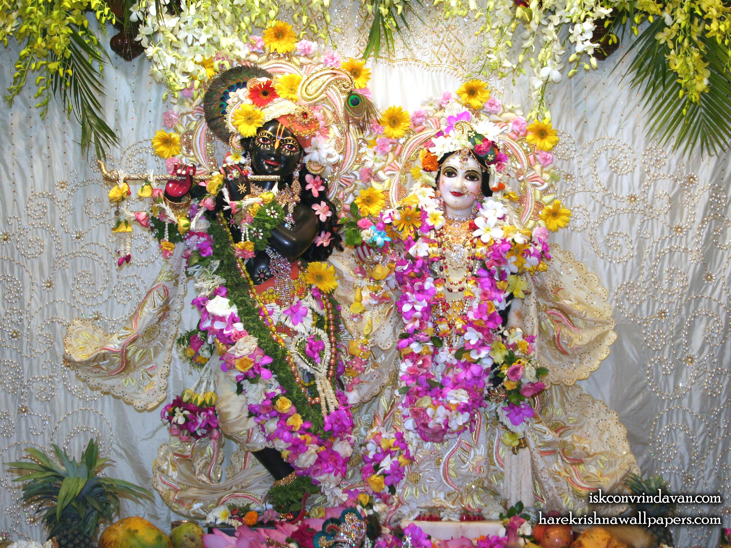 Sri Sri Radha Shyamsundar Wallpaper (006) Size 2400x1800 Download