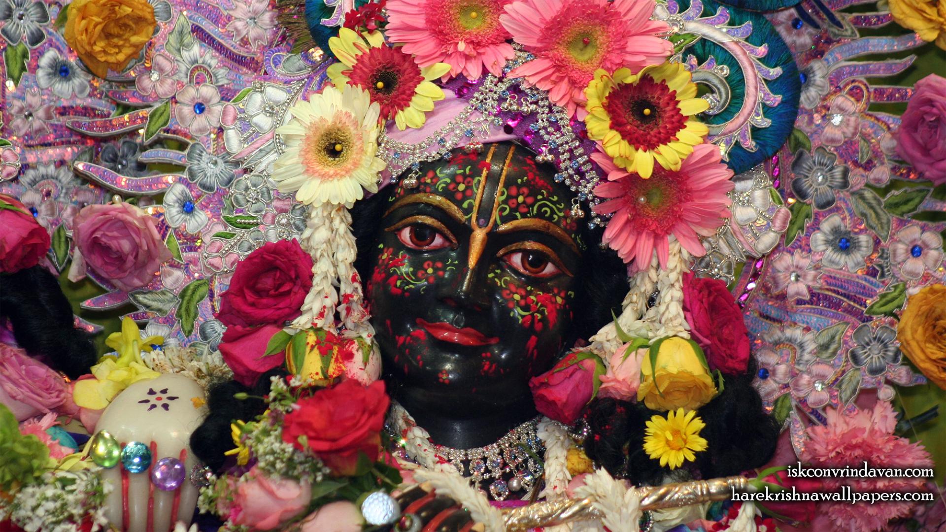 Sri Krishna Close up Wallpaper (007) Size 1920x1080 Download