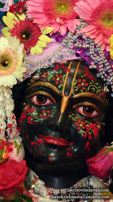 Sri Krishna Close up Wallpaper (007) Size 450x800 Download