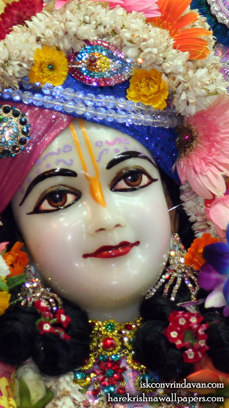 Sri Nitai Close up Wallpaper (007) Size 450x800 Download