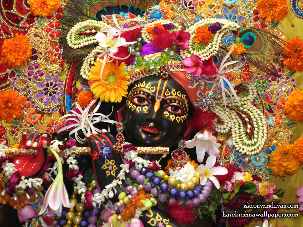 Sri Shyamsundar Close up Wallpaper (007) Size 1152x864 Download