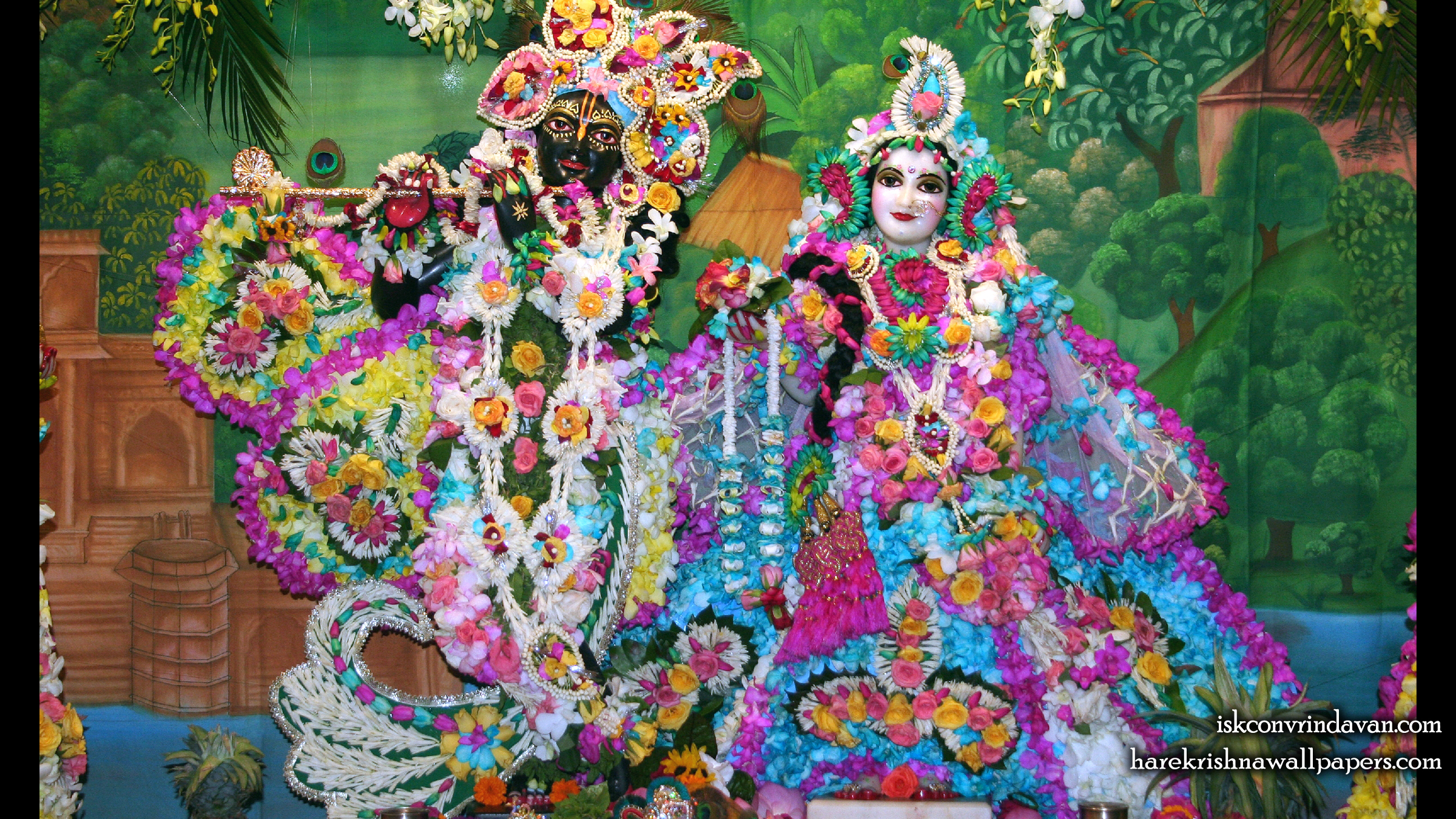 Sri Sri Radha Shyamsundar Wallpaper (007) Size 2400x1350 Download