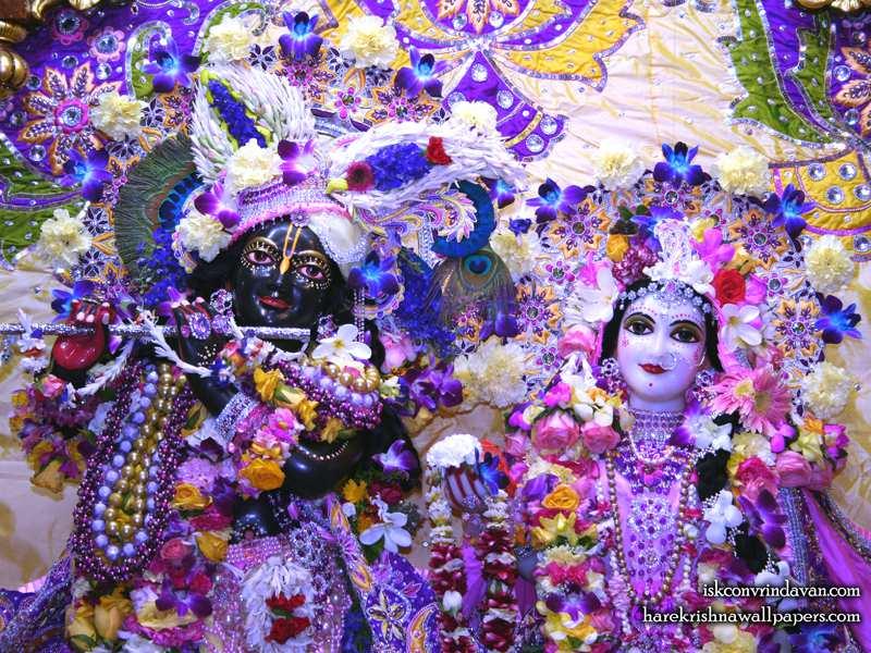 Sri Sri Radha Shyamsundar Close up Wallpaper (007)