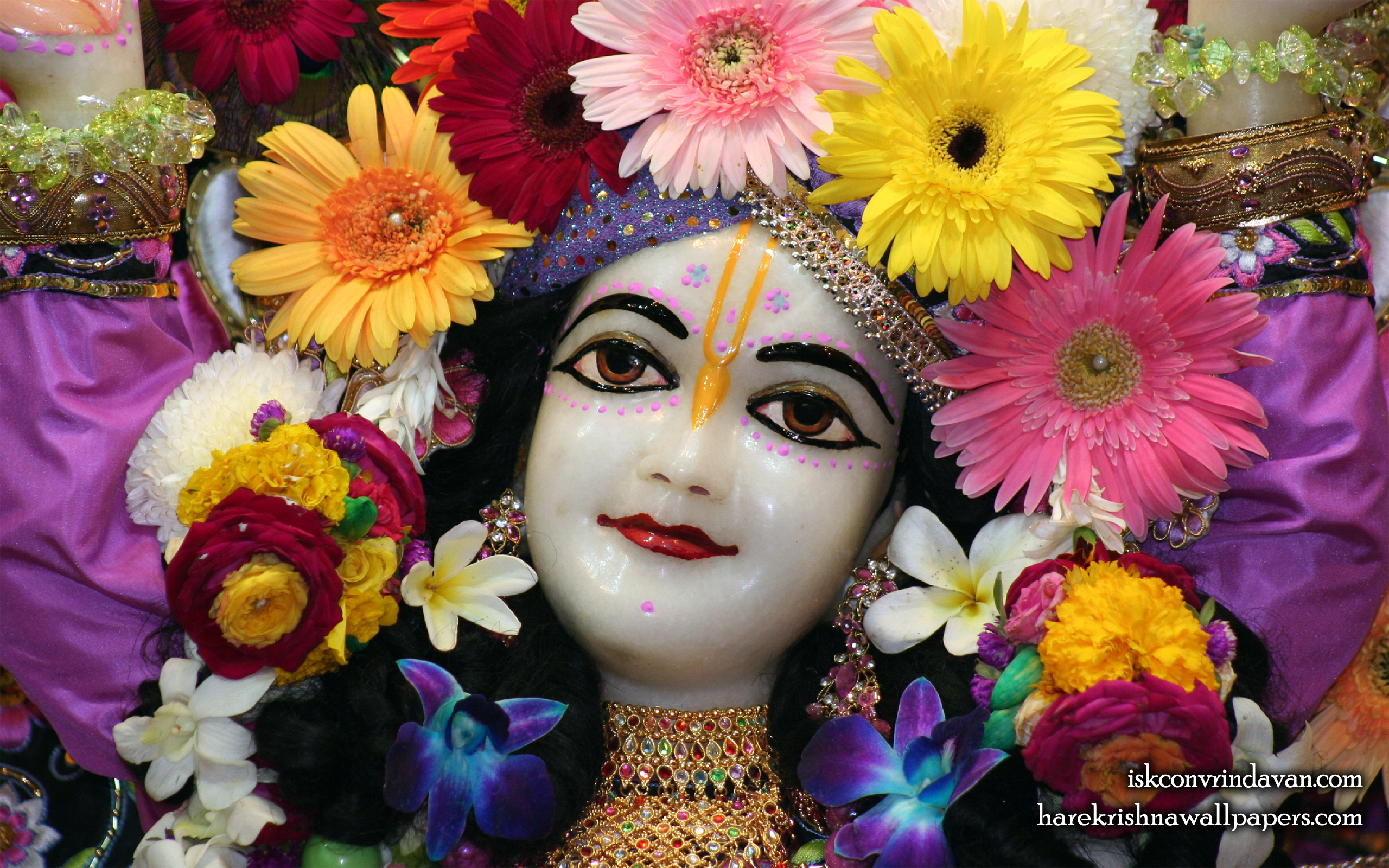 Sri Gaura Close up Wallpaper (008) Size 2560x1600 Download