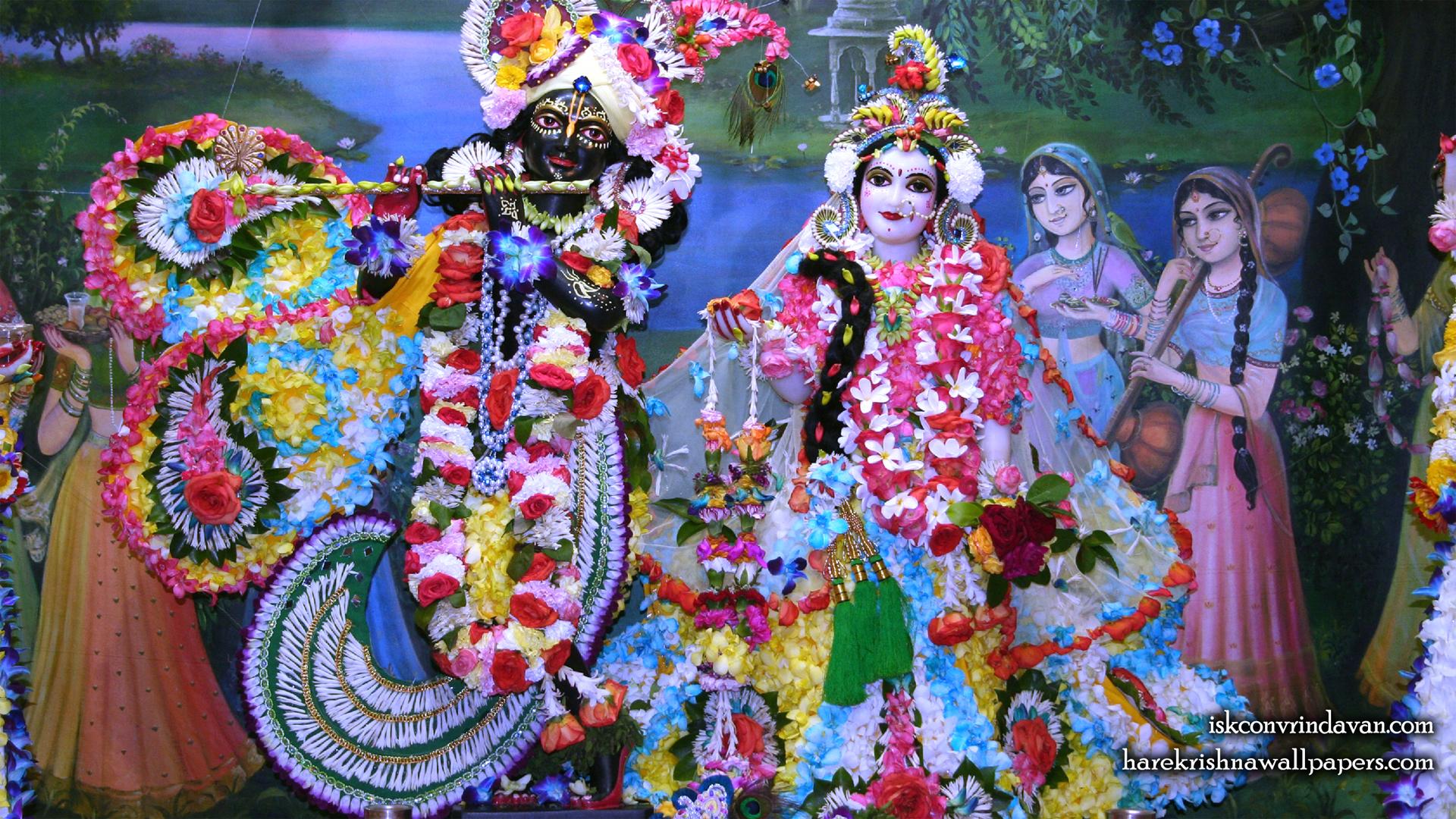 Sri Sri Radha Shyamsundar Wallpaper (008) Size 1920x1080 Download