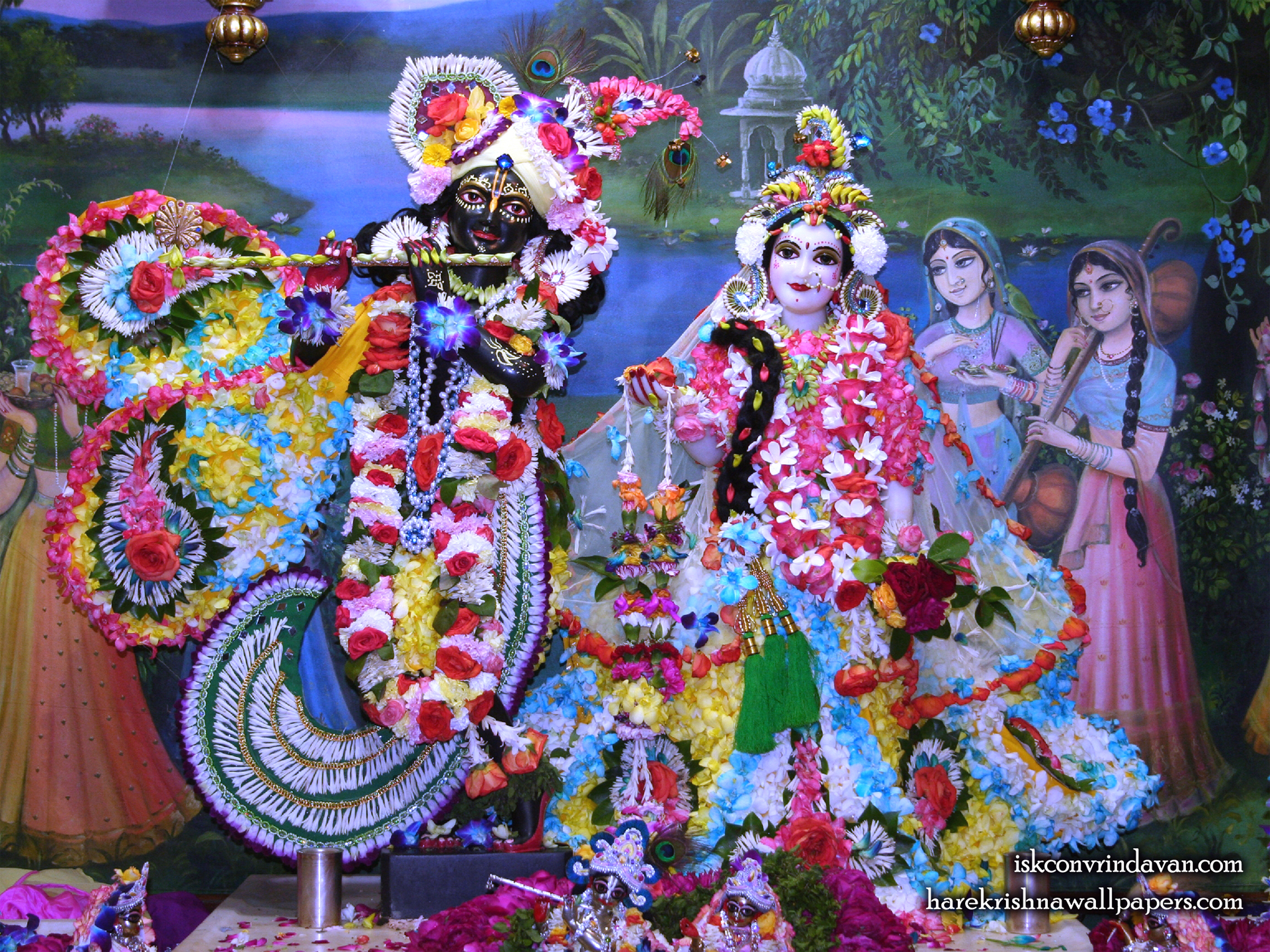 Sri Sri Radha Shyamsundar Wallpaper (008) Size 1920x1440 Download