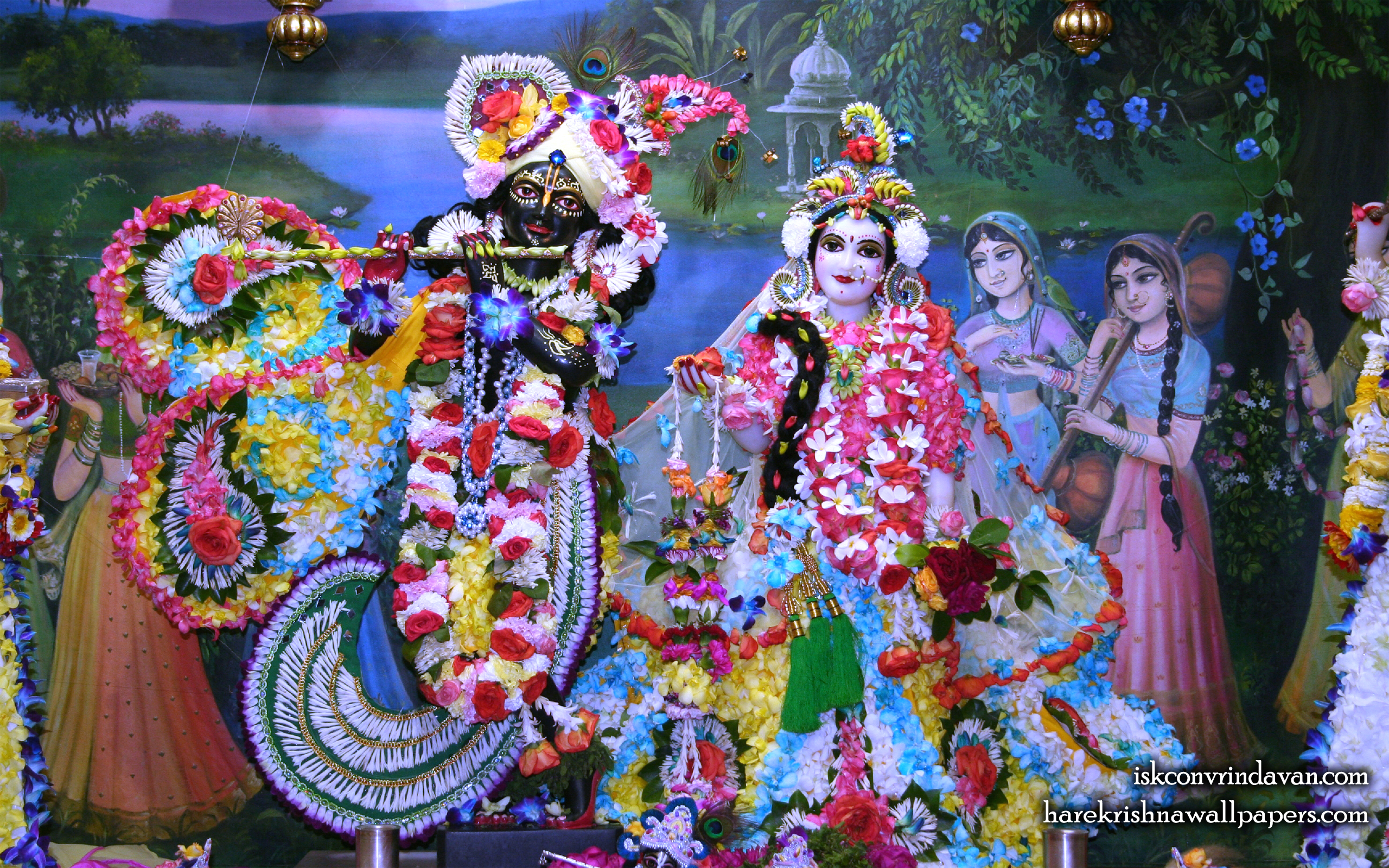 Sri Sri Radha Shyamsundar Wallpaper (008) Size 2560x1600 Download