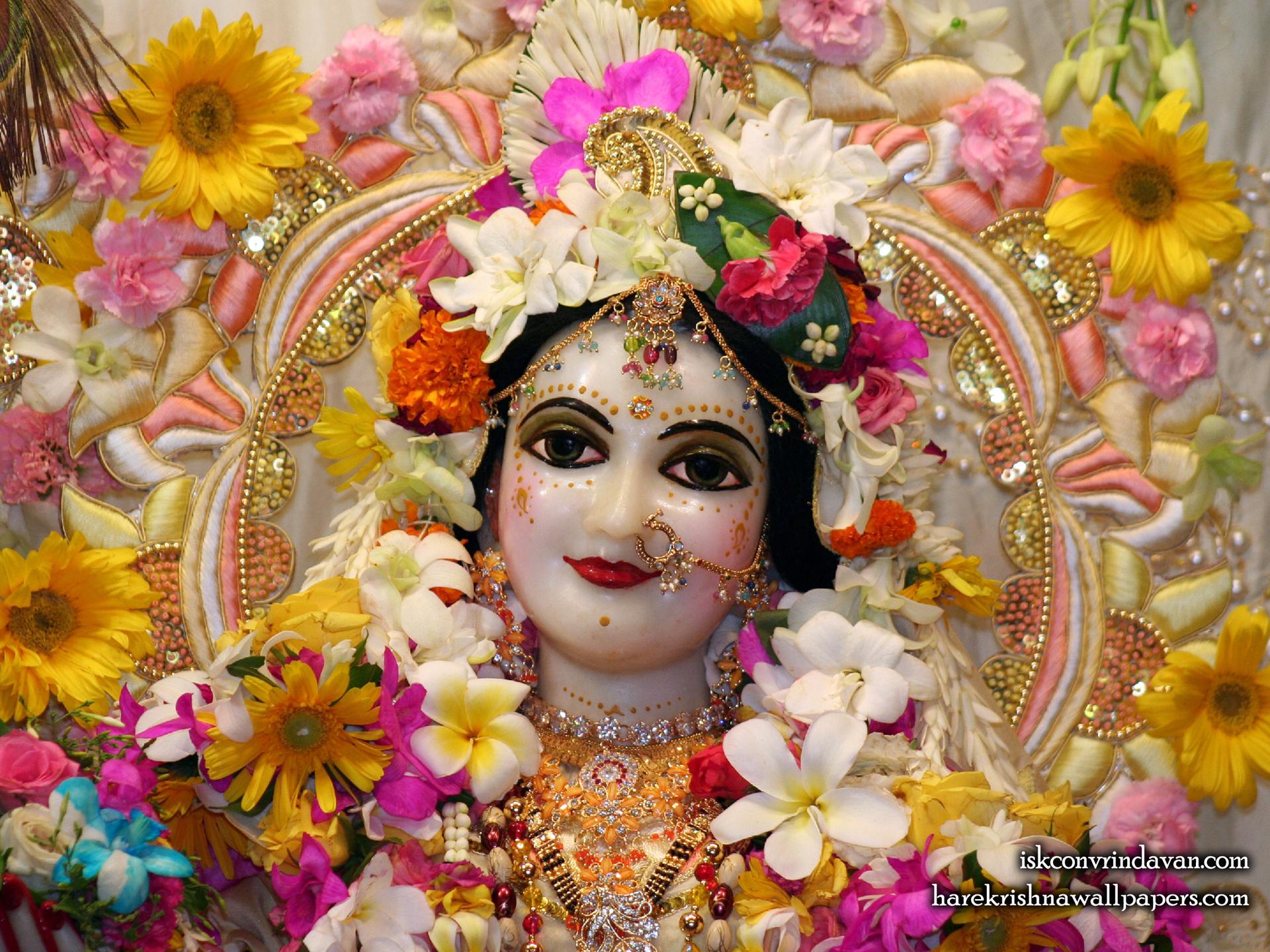 Sri Radha Close up Wallpaper (009) Size 1920x1440 Download