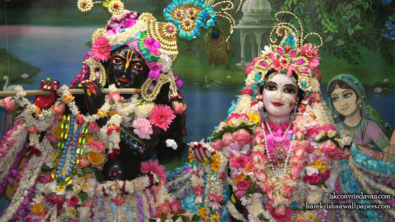 Sri Sri Radha Shyamsundar Close up Wallpaper (009) Size1280x720 Download