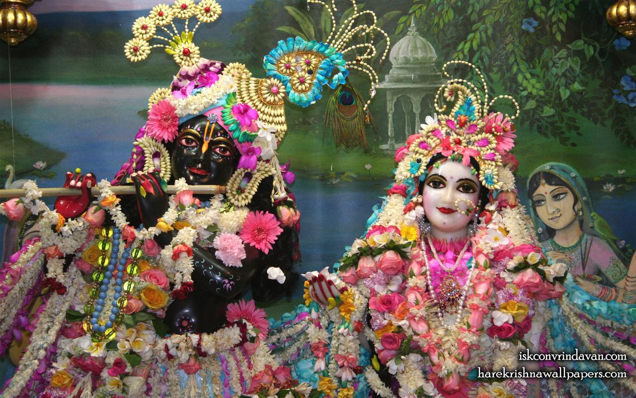 Sri Sri Radha Shyamsundar Close up Wallpaper (009) Size 1280x800 Download