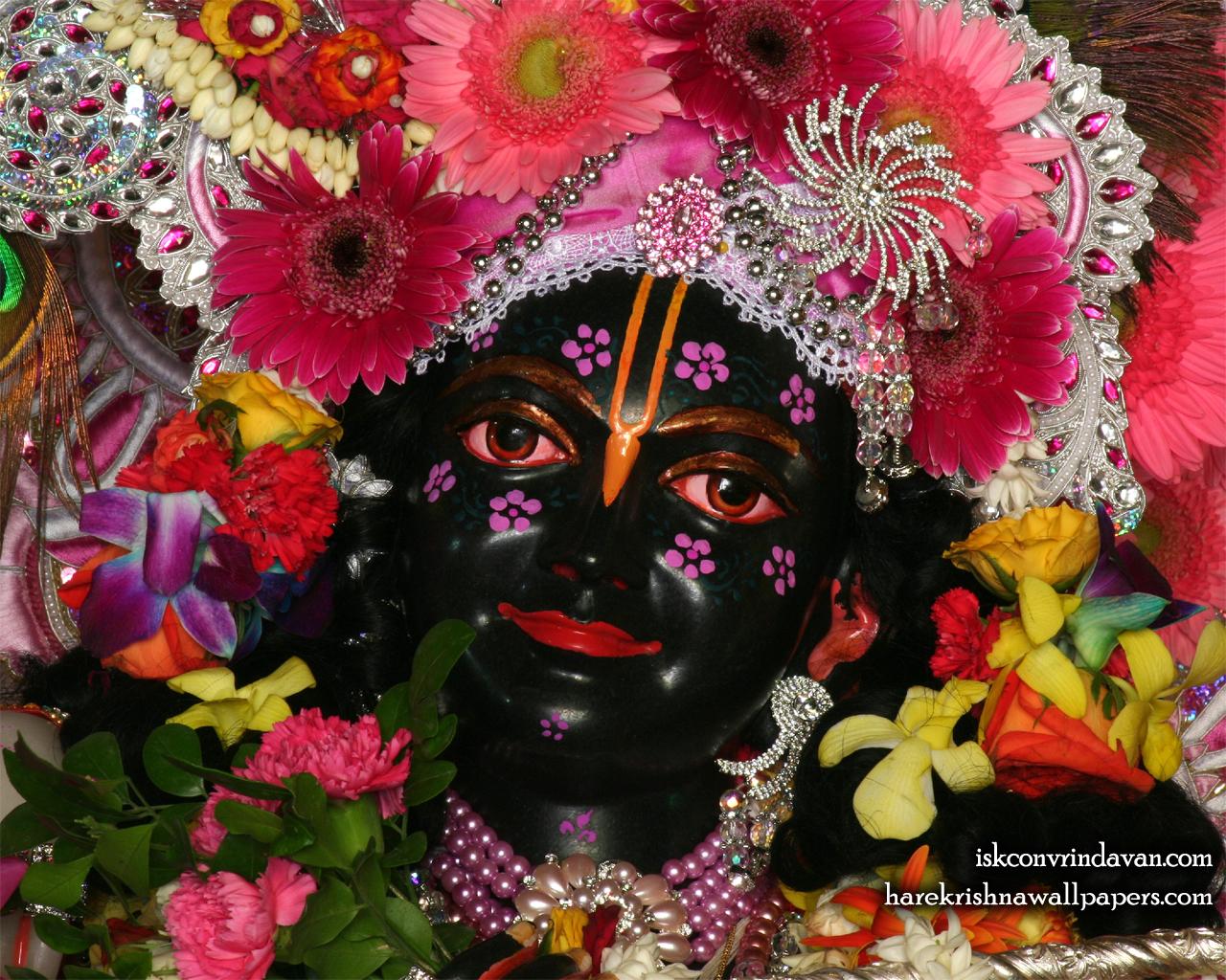 Sri Krishna Close up Wallpaper (010) Size 1280x1024 Download