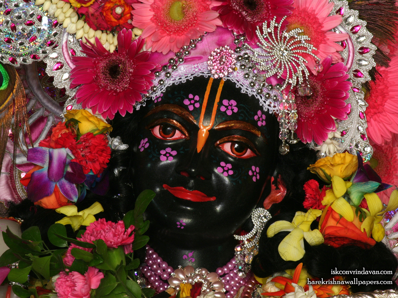 Sri Krishna Close up Wallpaper (010) Size 1280x960 Download