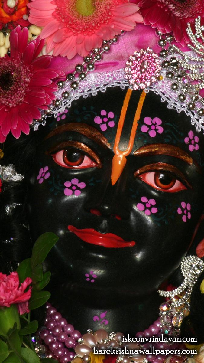 Sri Krishna Close up Wallpaper (010) Size 675x1200 Download