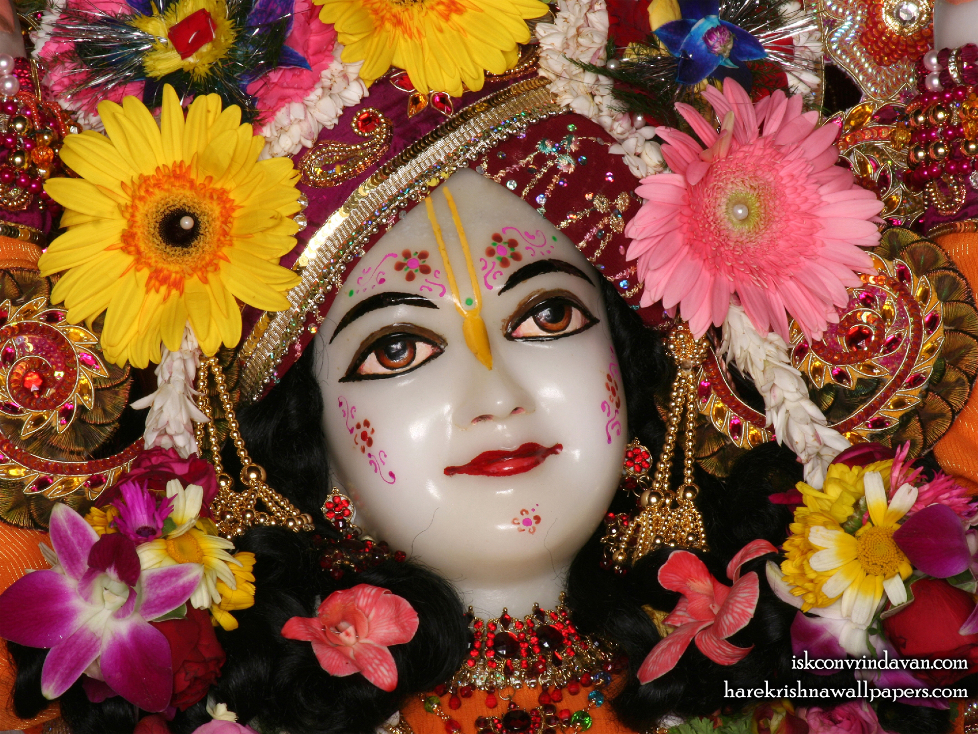 Sri Nitai Close up Wallpaper (010) Size 1920x1440 Download