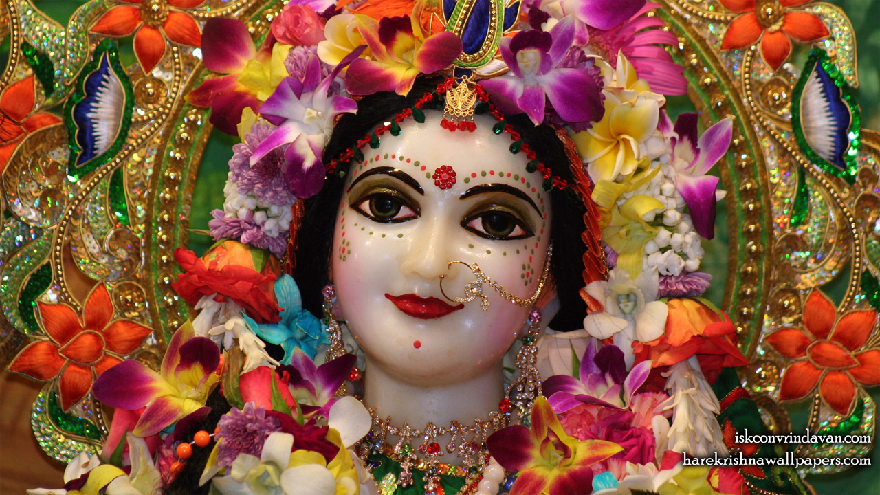 Sri Radha Close up Wallpaper (010) Size1280x720 Download