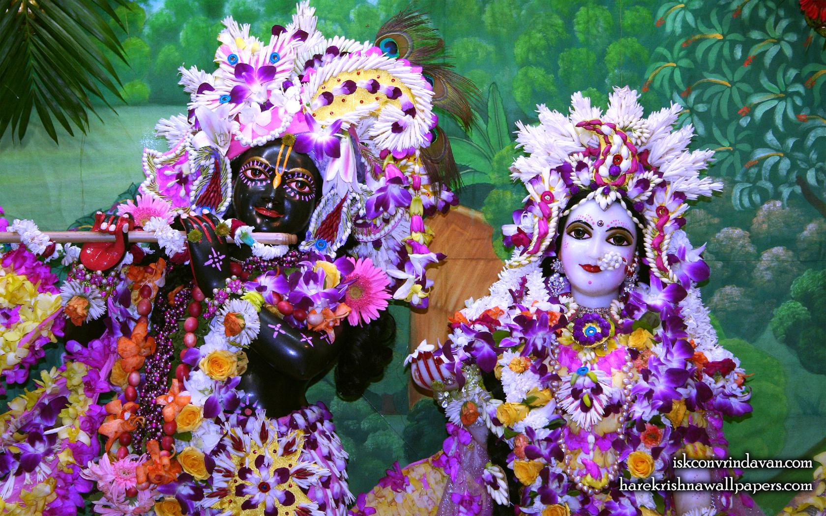 Sri Sri Radha Shyamsundar Close up Wallpaper (010) Size 1680x1050 Download
