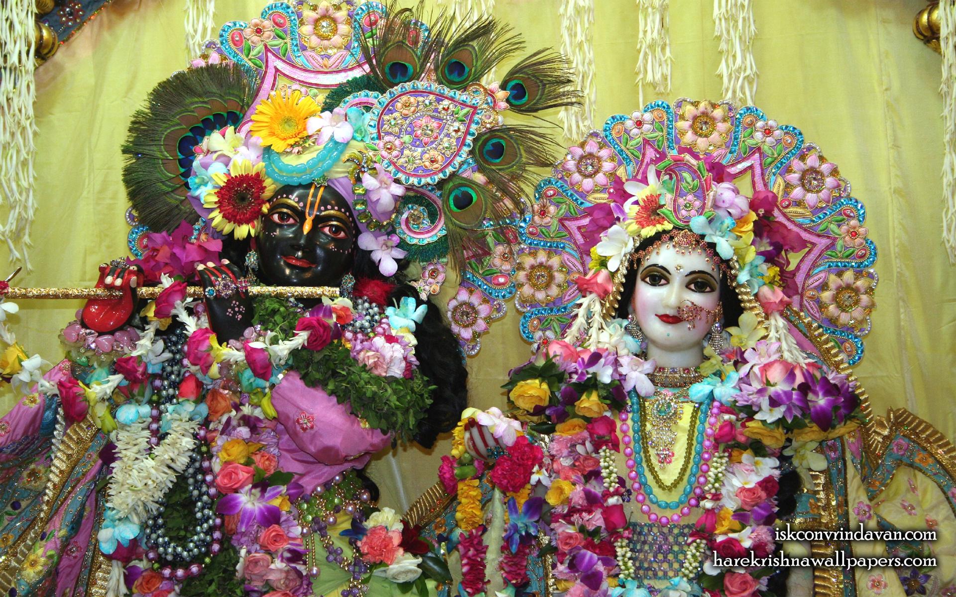 Sri Sri Radha Shyamsundar Close up Wallpaper (011) Size 1920x1200 Download