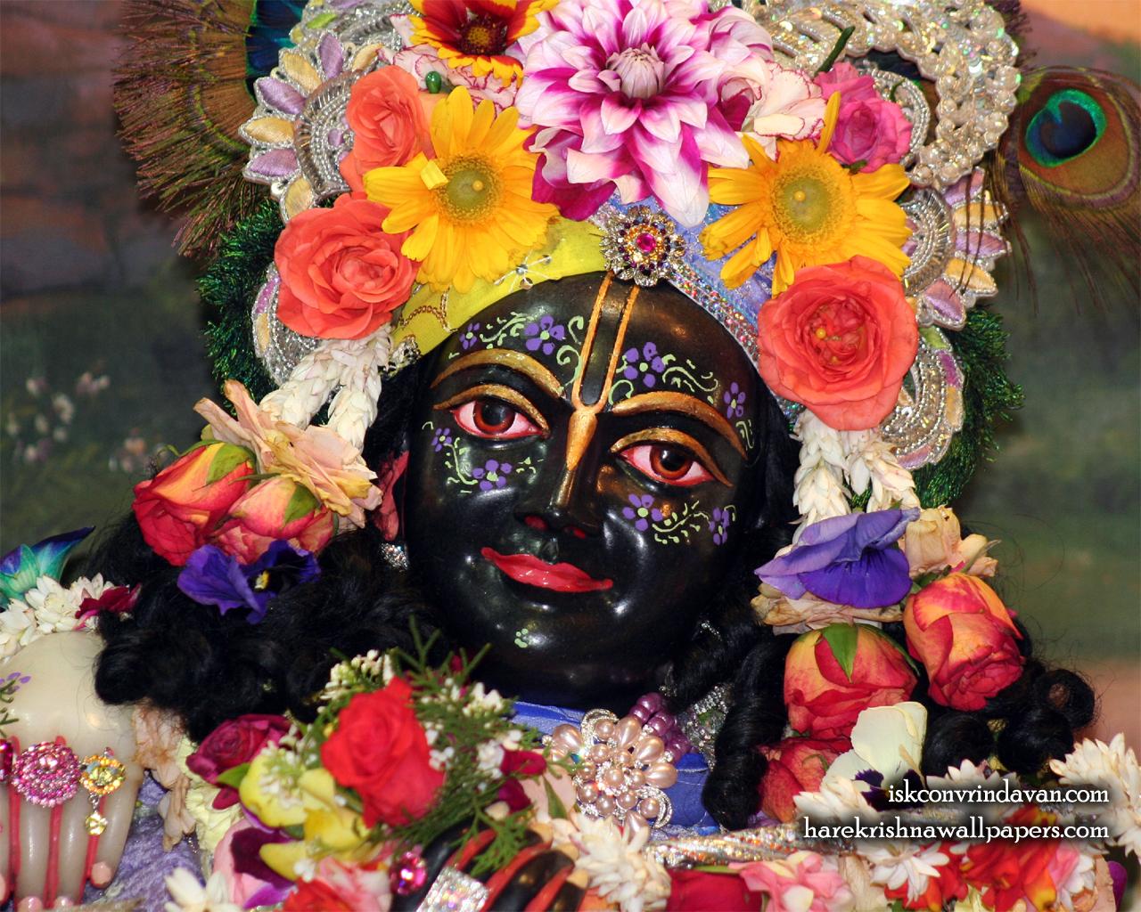 Sri Krishna Close up Wallpaper (012) Size 1280x1024 Download
